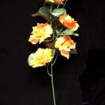 Rožių šakelės 0.43€ yra 6 spalvų